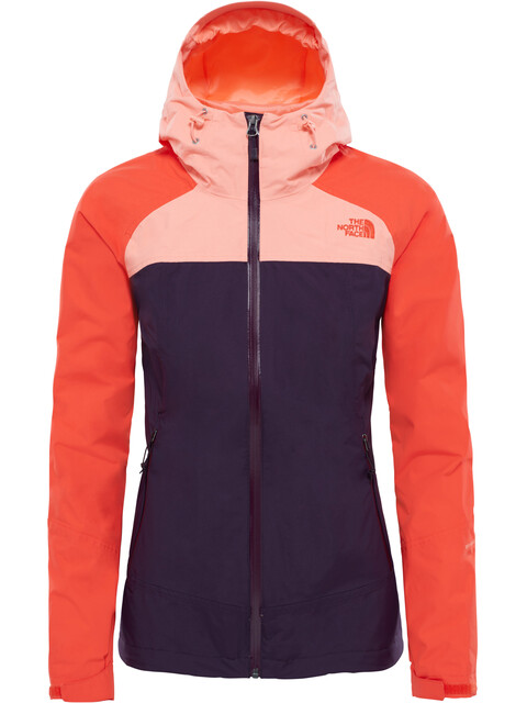 The North Face Stratos - Chaqueta Mujer - naranja/violeta